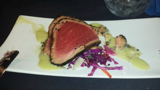 Emily's: the ahi tuna appetizer is the best I've ever eaten ANYWHERE!!!