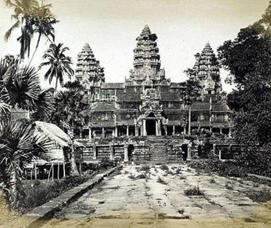 Restaurante Ta-Tung: Angkor wat