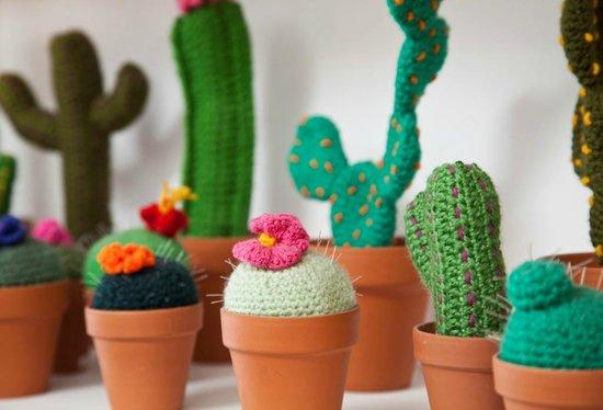 San Isidro, Argentina: Cactus tejidos a mano en Tienda de Costumbres