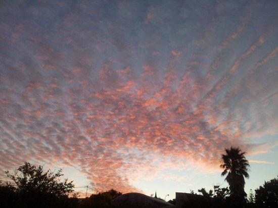 Wheatlands Lodge : Winter Sunset
