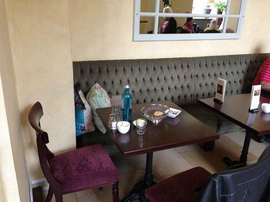 Cafe Klenze: eine der Nischen