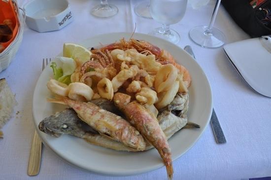 La Veranda di Giselda : Appétissante friture mixte