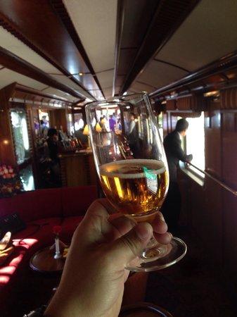 Train Hiram Bingham : ¡Salud! Desde el vagón barra