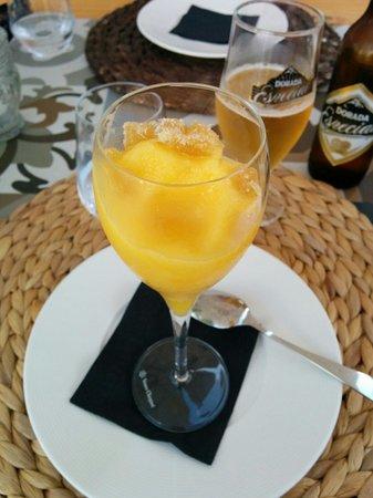 Restaurante Calma Chicha : Lovely ginger sorbet