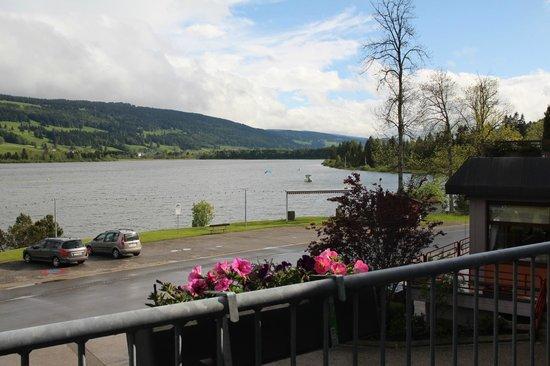 Hotel Bellevue Le Rocheray: vue de la chambre