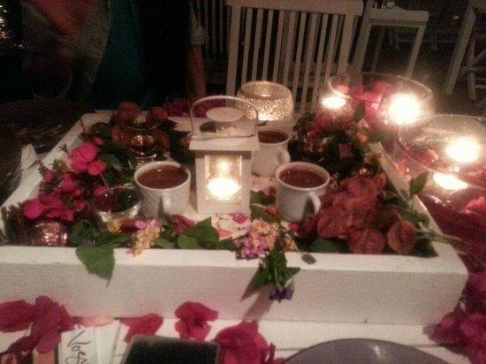 Mimoza Restaurant: En özel kahve servisi