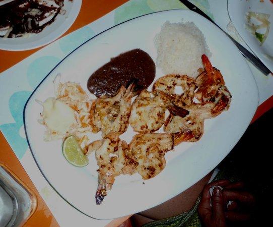 RESTAURANTE EL MORO: Grilled Shrimp at El Moro