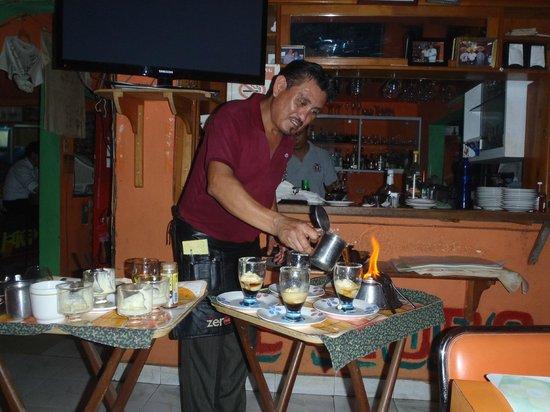 RESTAURANTE EL MORO: Mayan Coffees at El Moro