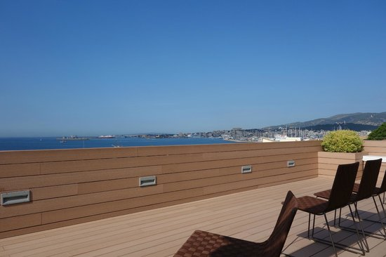 Boutique Hotel Calatrava : Breakfast rooftop terrace