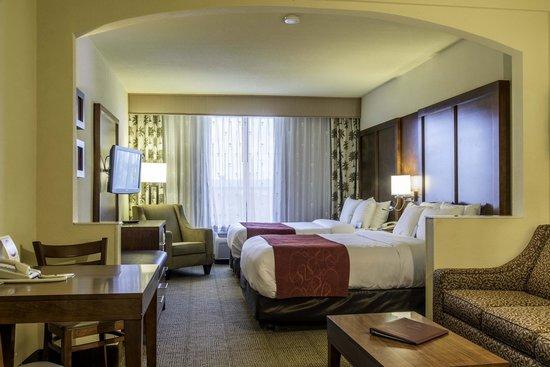 Comfort Suites Miami / Kendall: Room Interior