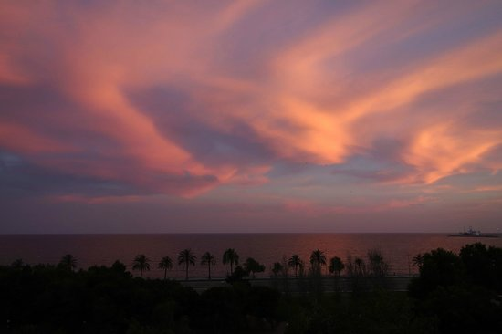 Boutique Hotel Calatrava: Sunset view from room 11