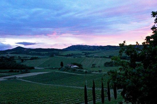 Relais Villa Grazianella - Fattoria del Cerro : Tramonto