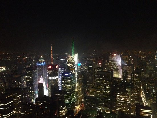 Empire State Building: What to expect at night time