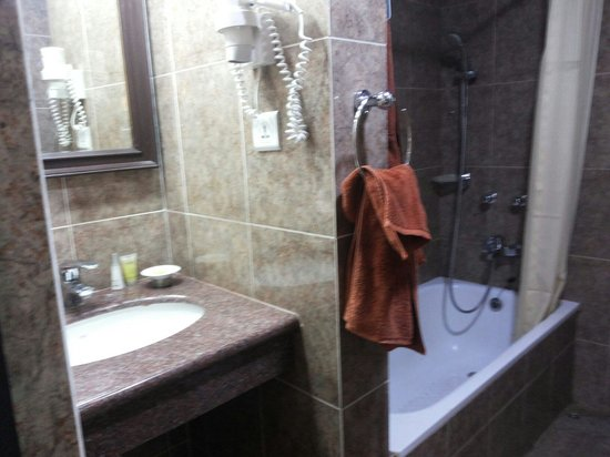 Hotel Shanker : Neat bathroom in suite 709