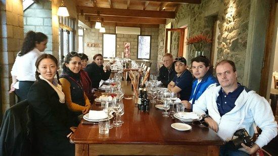 Casa del Visitante - Familia Zuccardi: Almoço entre amigos, ÓTIMO.