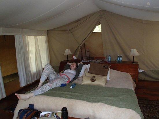 Karen Blixen Camp: Inside the tent