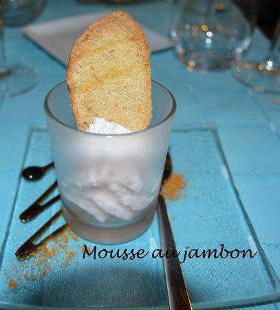la petite brocante : Mousse de Jambon