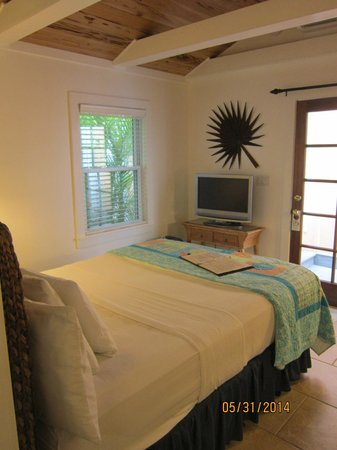 Tropical Inn: View of our room