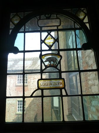 Astley Hall: Original window in the Hall