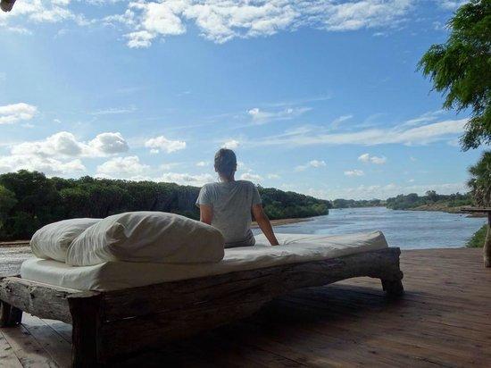 Galdessa Camp: the view