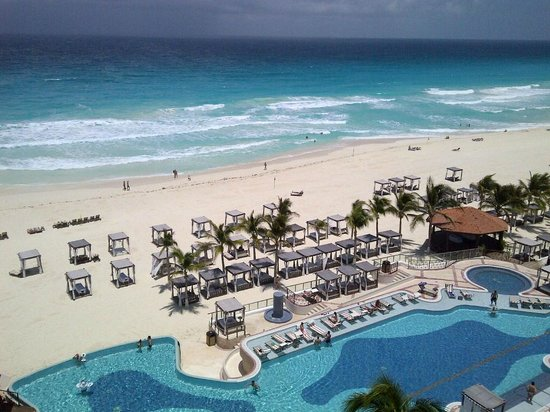 Hyatt Zilara Cancun: Beautiful balcony vew