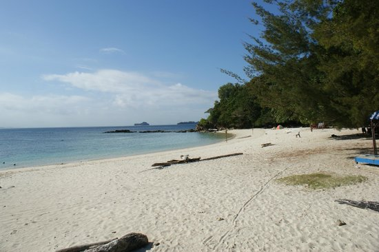Hyatt Regency Kinabalu : take a trip across the bay from the hotel to this island for the most amazing snorkelling