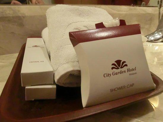 City Garden Hotel Makati: Free toiletries