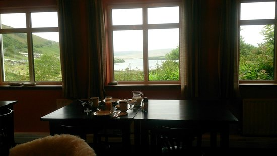 Kilcommon Lodge Hostel: view from the common room