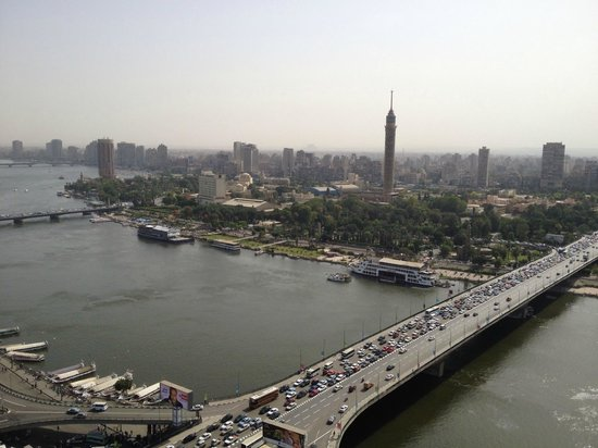 Ramses Hilton: Nile RIver and Cairo Tower