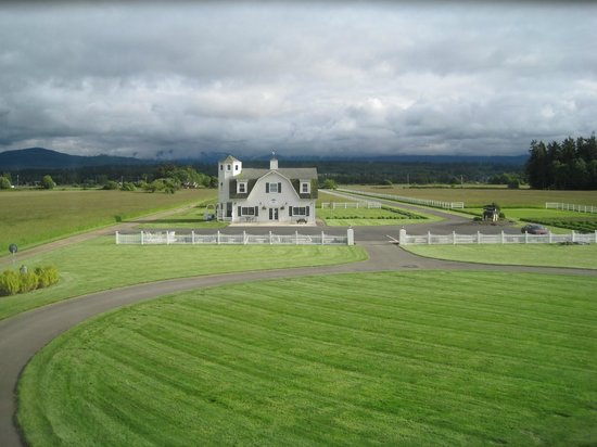 George Washington Inn: view from the Surveyor's retreat