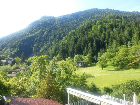 Albergo Zur Sonne: vista dalla camera