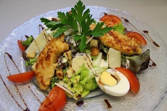 Restaurant la Comédie : salade cesar