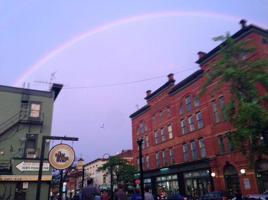 Rainbow Picture of The Farmhouse Tap & Grill Burlington TripAdvisor