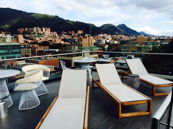 Hotel Exe Bacata 95: Vista de la terraza