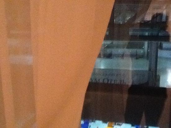 Aquarium Hotel: Fensterblick