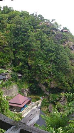 Risshaku-ji Temple: 立石寺上部