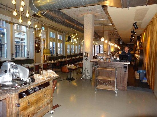 Hotel V Nesplein restaurant
