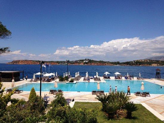 Pool at the Westin Athens Astir Palace Beach Resort