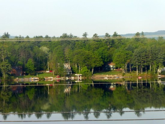 Inn on Newfound Lake: The view from my room