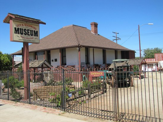 Guy B Woodward Museum: Museum complex: historic buildings, wagons, antiques, & much more!