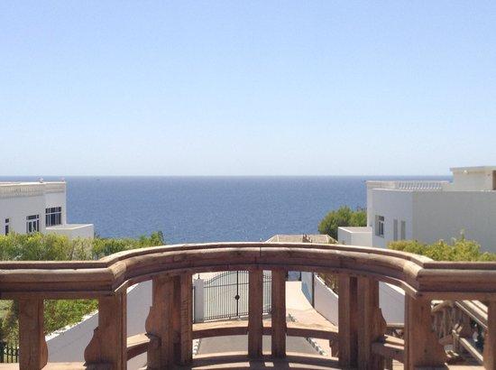 Maritim Jolie Ville Golf & Resort: View from the bridge on the way to the beach