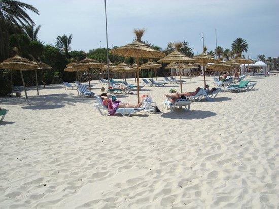 Hasdrubal Thalassa Hotel & Spa Port El Kantaoui: La plage privée