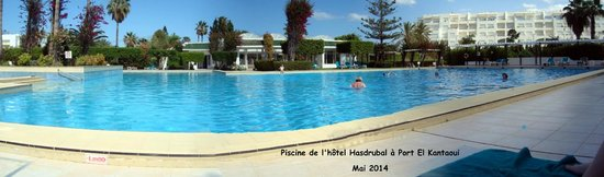 Hasdrubal Thalassa Hotel & Spa Port El Kantaoui: La piscine extérieure