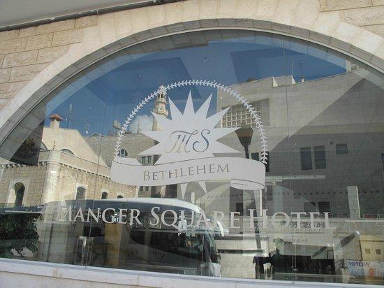 Manger Square Hotel: Ingresso hotel