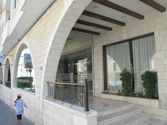 Manger Square Hotel: Ingresso