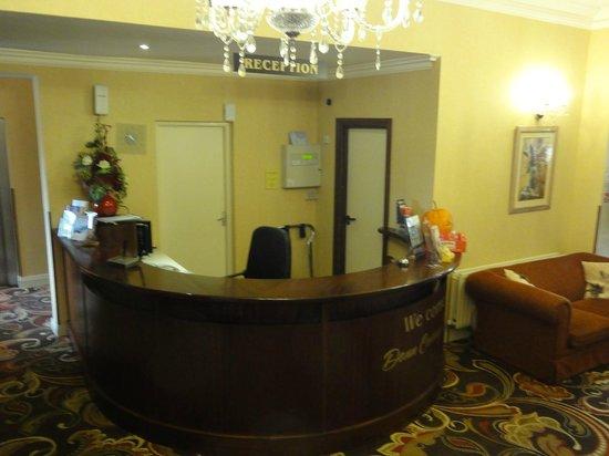 Donn Carragh: DC Reception area