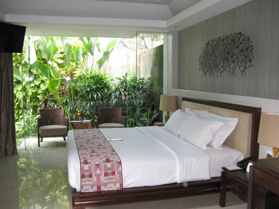 Bali Mandira Beach Resort & Spa: Very Comfortable bed