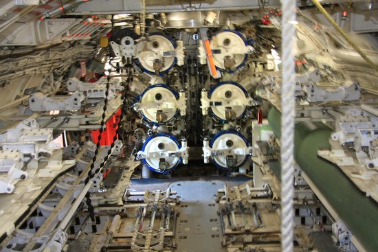 The Museum of Naval History: Torpedo Room