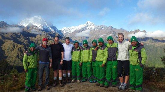 Santuario Histórico de Machu Picchu: our amazing team!