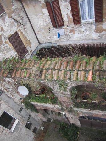 Umbria Hotel : dal terrazzino
